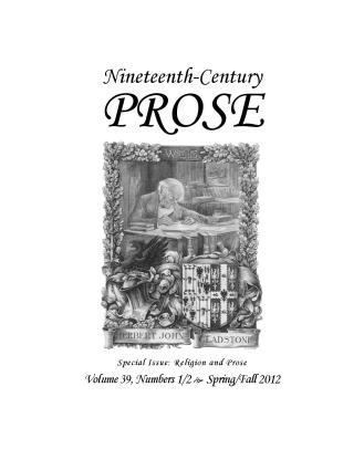 Volume 39, Numbers 1/2, Spring/Fall 2012