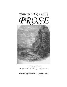 Volume 40, Number 1 Spring 2013